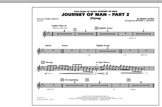Journey Of Man Part 2 Flying Mallet Percussion 2 By Benoit