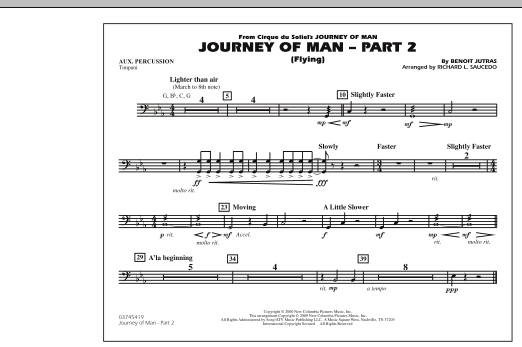 Journey of Man - Part 2 (Flying) - Aux Percussion (Marching Band)