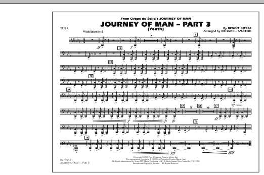 Journey of Man - Part 3 (Youth) - Tuba (Marching Band)