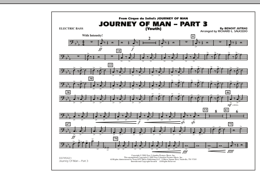 Journey of Man - Part 3 (Youth) - Electric Bass (Marching Band)
