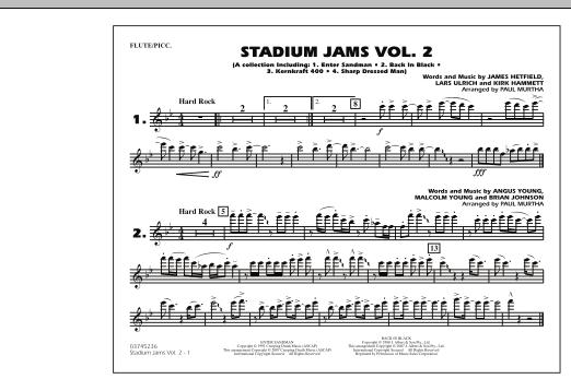 Stadium Jams - Vol. 2 - Flute/Piccolo (Marching Band)