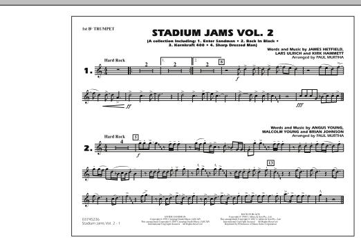 Stadium Jams - Vol. 2 - 1st Bb Trumpet (Marching Band)