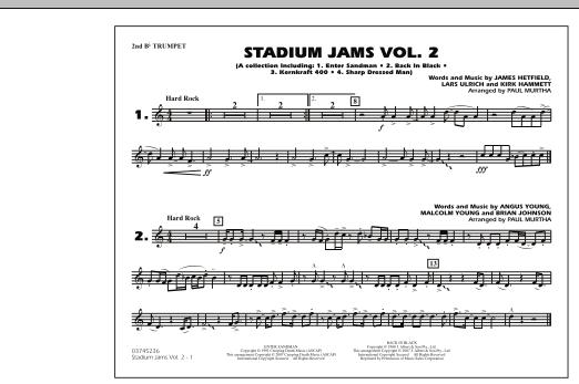 Stadium Jams - Vol. 2 - 2nd Bb Trumpet (Marching Band)