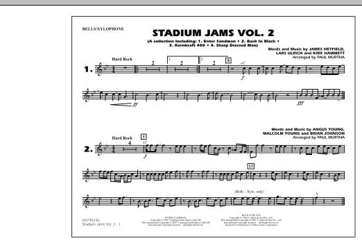 Stadium Jams - Vol. 2 - Bells/Xylophone (Marching Band)