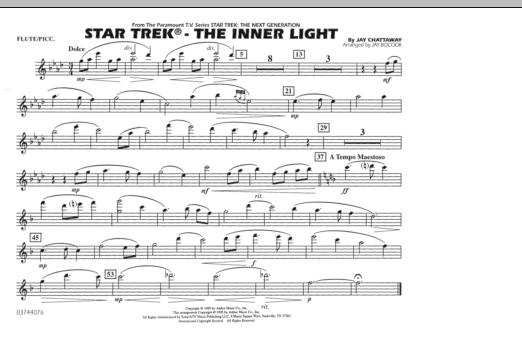 Star Trek - The Inner Light - Flute/Piccolo (Marching Band)