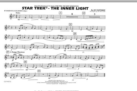 Star Trek - The Inner Light - Bb Horn/Flugelhorn (Marching Band)