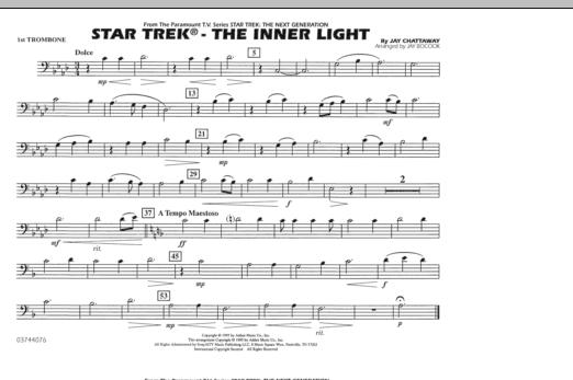 Star Trek - The Inner Light - 1st Trombone (Marching Band)