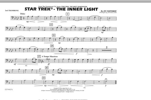 Star Trek - The Inner Light - 2nd Trombone (Marching Band)