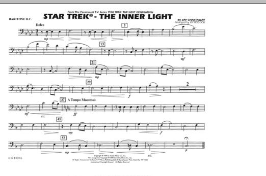 Star Trek - The Inner Light - Baritone B.C. (Marching Band)