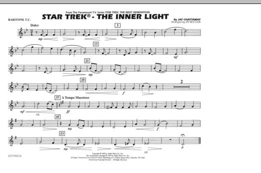 Star Trek - The Inner Light - Baritone T.C. (Marching Band)