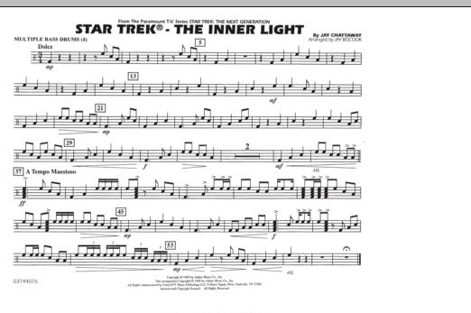 Star Trek - The Inner Light - Multiple Bass Drums (Marching Band)