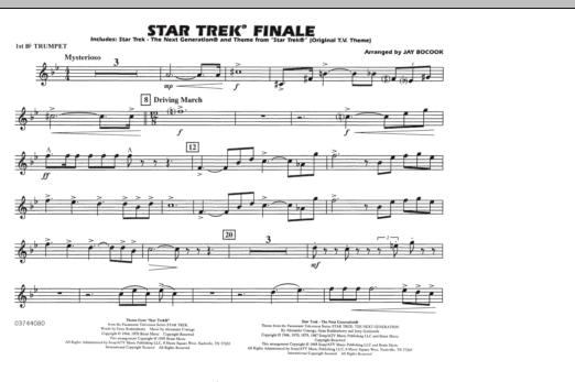 Star Trek Finale - 1st Bb Trumpet (Marching Band)