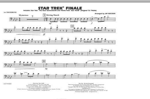 Star Trek Finale - 1st Trombone (Marching Band)