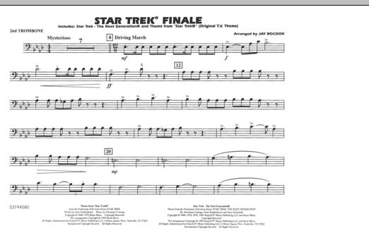 Star Trek Finale - 2nd Trombone (Marching Band)