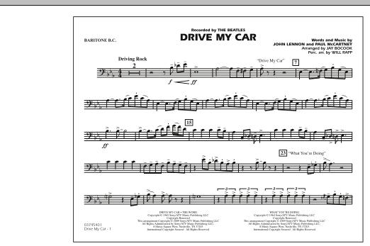 Drive My Car - Baritone B.C. (Marching Band)