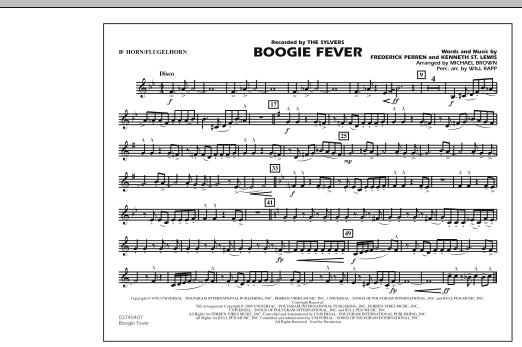 Boogie Fever - Bb Horn/Flugelhorn (Marching Band)