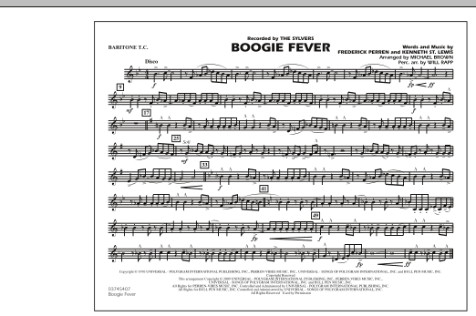Boogie Fever - Baritone T.C. (Marching Band)