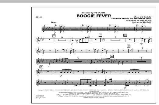 Boogie Fever - Bells (Marching Band)