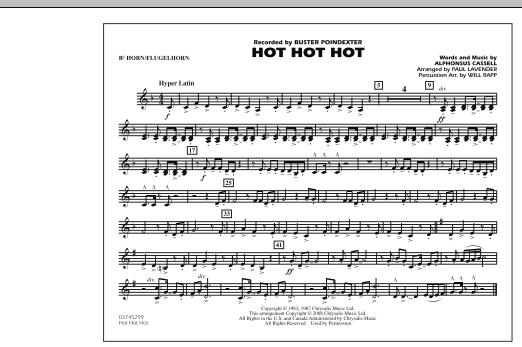 Hot Hot Hot - Bb Horn/Flugelhorn (Marching Band)