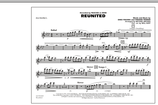 Reunited - Flute/Piccolo (Marching Band)
