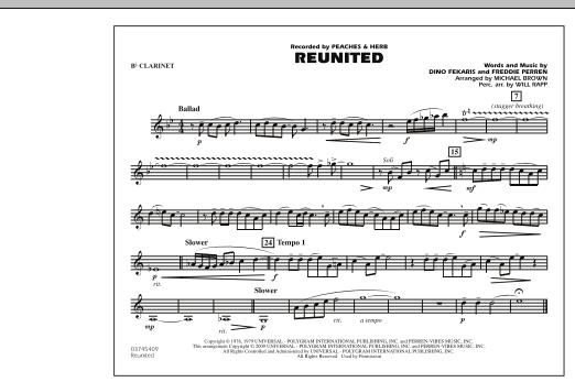 Reunited - Bb Clarinet (Marching Band)