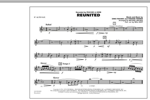 Reunited - Eb Alto Sax (Marching Band)
