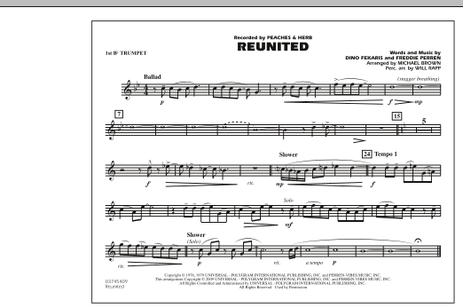 Reunited - 1st Bb Trumpet (Marching Band)