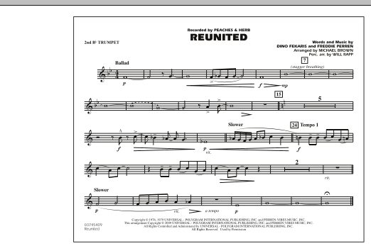 Reunited - 2nd Bb Trumpet (Marching Band)