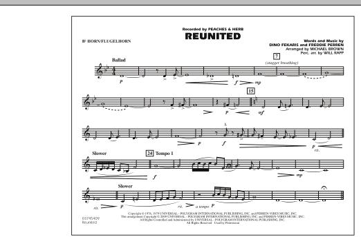 Reunited - Bb Horn/Flugelhorn (Marching Band)