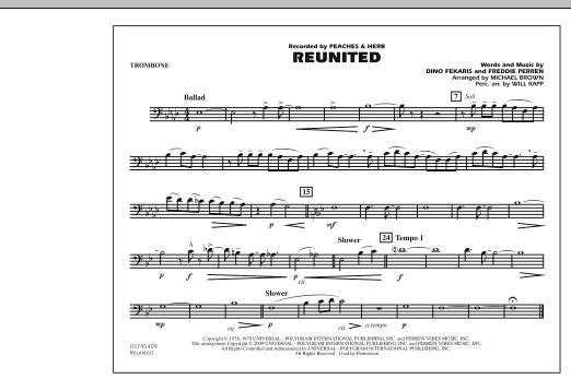 Reunited - Trombone (Marching Band)