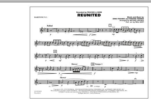 Reunited - Baritone T.C. (Marching Band)