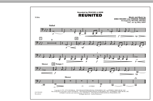 Reunited - Tuba (Marching Band)