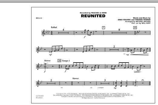 Reunited - Bells (Marching Band)