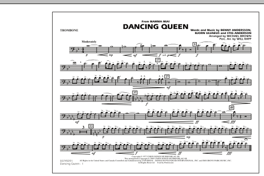 "Dancing Queen (from ""Mamma Mia!"") - Trombone (Marching Band)"