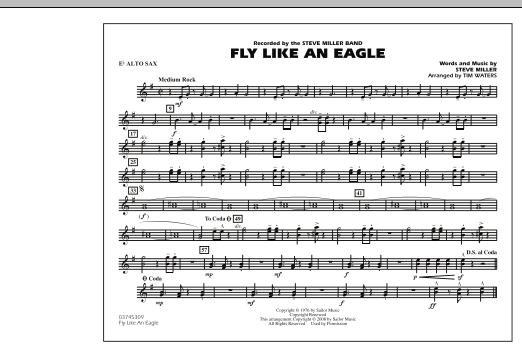 Fly Like An Eagle - Eb Alto Sax (Marching Band)