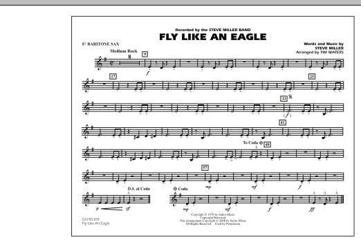 Fly Like An Eagle - Eb Baritone Sax (Marching Band)