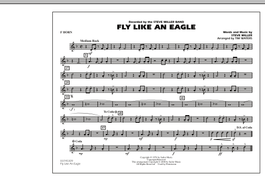 Fly Like An Eagle - F Horn (Marching Band)