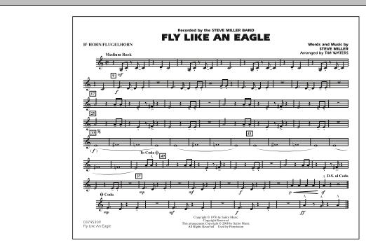 Fly Like An Eagle - Bb Horn/Flugelhorn (Marching Band)
