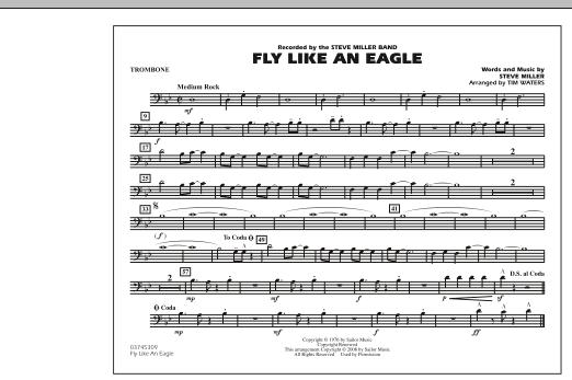 Fly Like An Eagle - Trombone (Marching Band)