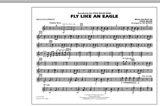 Fly Like An Eagle - Bells/Xylophone (Marching Band)