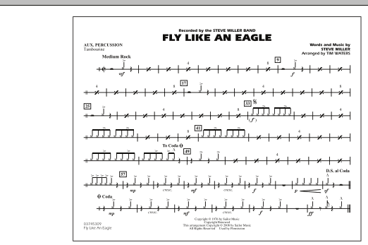 Fly Like An Eagle - Aux Percussion (Marching Band)