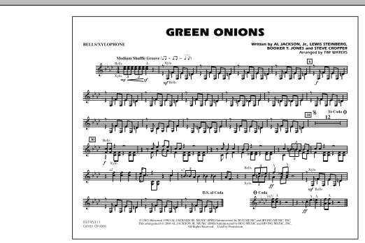 Green Onions - Bells/Xylophone (Marching Band)