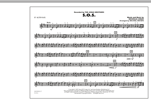 S.O.S. - Eb Alto Sax (Marching Band)