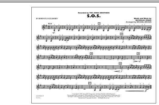 S.O.S. - Bb Horn/Flugelhorn (Marching Band)