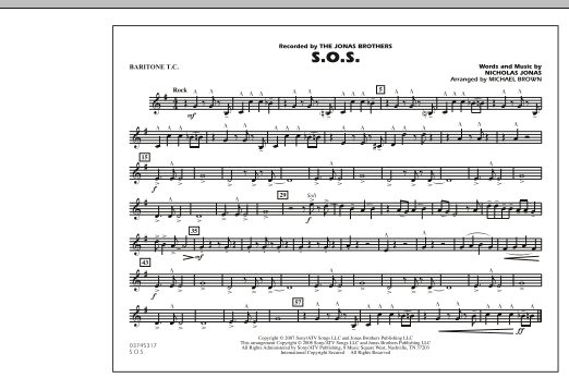 S.O.S. - Baritone T.C. (Marching Band)