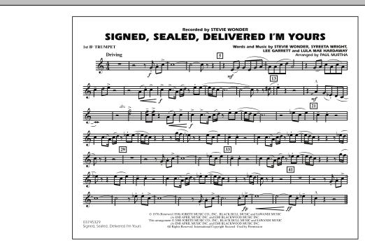 signed sealed delivered lyrics