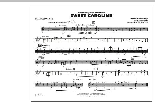 Sweet Caroline - Bells/Xylophone (Marching Band)