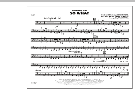 So What - Tuba (Marching Band)
