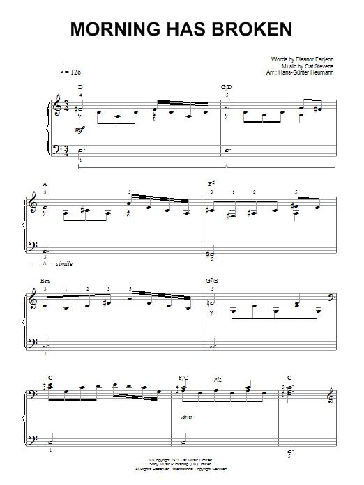 Morning Has Broken | Sheet Music Direct