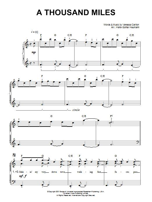A THOUSAND YEARS Chords - Christina Perri | E-Chords